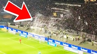 Soccer Fans Protest Game In An EPIC Way