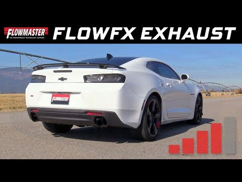 2016-19 Camaro SS 6.2L - FlowFX Axle-back Exhaust System 717828