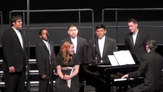"""OHS Men's Choir, """"Aura Lee"""""""