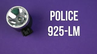 Police BL-925 LM - відео 1
