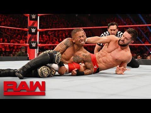 Download Finn Bálor vs. Lio Rush - Intercontinental Championship Match: Raw, Feb. 25, 2019 HD Mp4 3GP Video and MP3