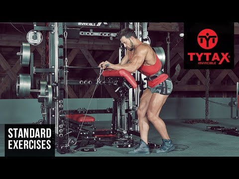 TYTAX® T1-X | Cable Reverse Wrist Curl