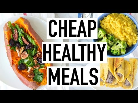 Video CHEAP HEALTHY MEALS UNDER $3! Healthy & Affordable Recipes! Cooking With Liv Ep.21