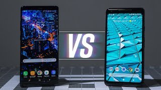 Samsung Galaxy Note8 vs Google Pixel 2 XL: The Best Android
