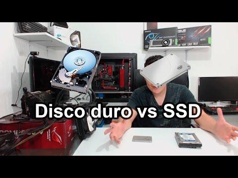 Diferencias entre un disco duro y una unidad de estado sólido / SSD