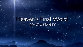 Heaven's Final Word // CJM MUSIC // LYRIC VIDEO