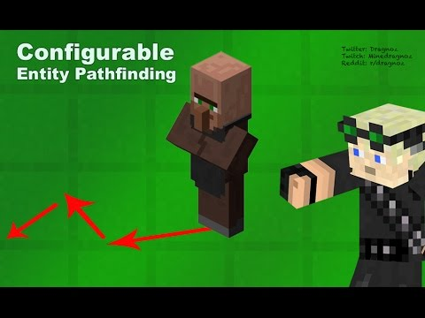 Configurable entity path finding Minecraft 1.8