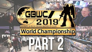 GBWC 2019 - Gunpla Builders World Cup Finals in Tokyo, Japan: The Complete Inside Experience! [Pt.2]