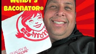 Wendy's Baconator® REVIEW!