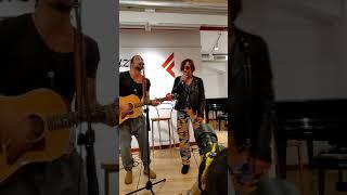 Enrico Nigiotti E Gianna Nannini Complici Live Feltrinelli Napoli 16 09 2018