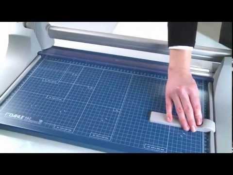 Schneidemaschine Dahle 446, A1 Rollenschneider, 25 Blatt, 920 mm