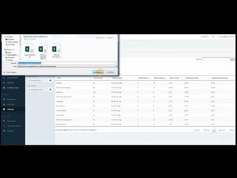 Exportación de datos ...en 30 segundos