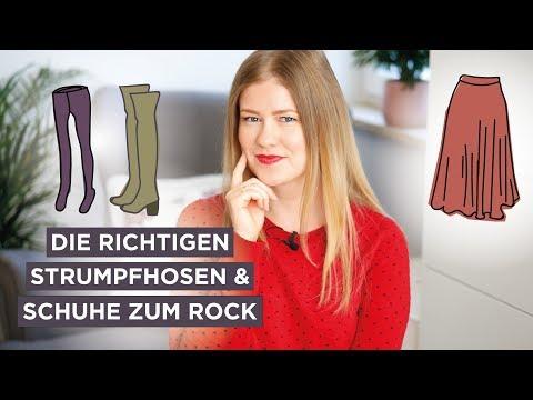 Die RICHTIGEN Strumpfhosen & Schuhe zum Rock/Kleid