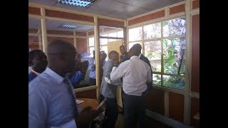 BREAKING NEWS: Starehe and Embakasi East MPs Kanyi Njagua and Babu Owino in a fist fight