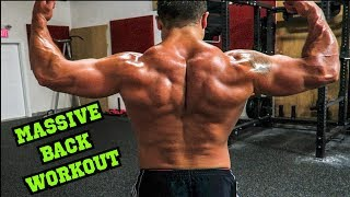 Advanced MASSIVE Back Workout | Size AND Strength! by Anabolic Aliens