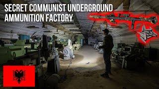 URBEX | Machine gun, explosives and bullets in a secret underground factory