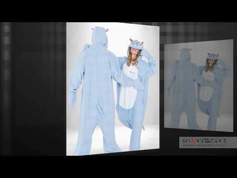 Пижама кигуруми Бегемот Мото для девушки