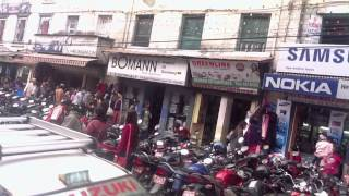preview picture of video 'Kathmandu Nepal Dipawali Shopping craze video'