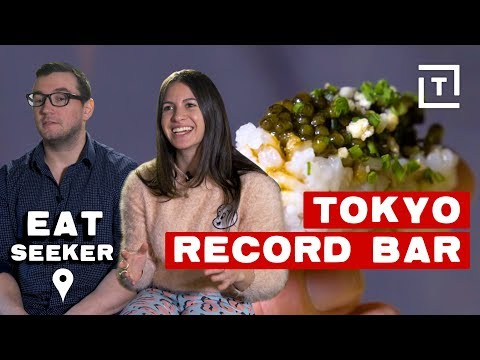 Pairing Japanese Cuisine with Vinyl Music || Eat Seeker