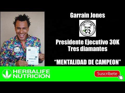 MENTALIDAD DE CAMPEÓN/ GARRAIN JONES PRESIDENTE EJECUTIVO 30K TRES DIAMANTES