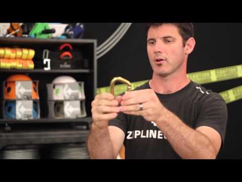 Omega Pacific Steel D Carabiner Review – Zip Line Gear