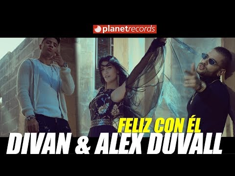 DIVAN & ALEX DUVALL - Feliz con Él (Video oficial by Charles Cabrera) Cubaton - Reggaeton 2018
