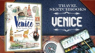 preview picture of video 'Venice Watercolor Travel Book'