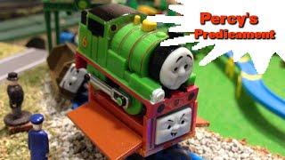 """トーマス プラレール ガチャガチャ  かしゃにのりあげたパーシー Tomy Plarail Thomas """"Percy's Predicament"""""""