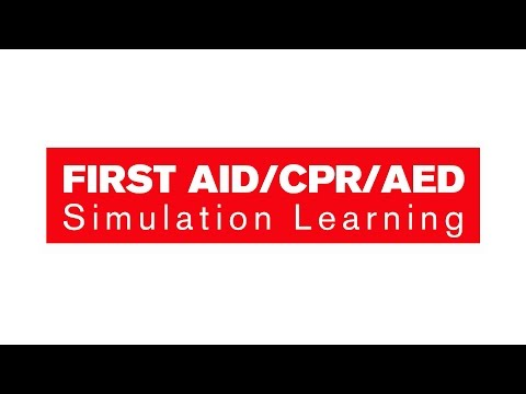 First Aid/CPR/AED Simulation Learning Course - YouTube