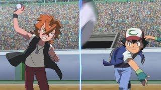 Pokemon Battle USUM: Ash Vs Cross (Pokémon League / Rematch)