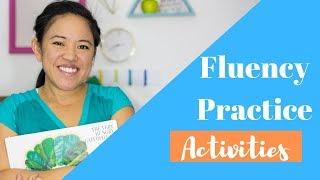 Fluency Practice Activities