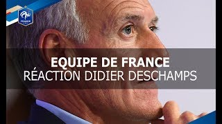 Equipe de France : Didier Deschamps avant le tirage au sort du Mondial 2018, interview I FFF 2017