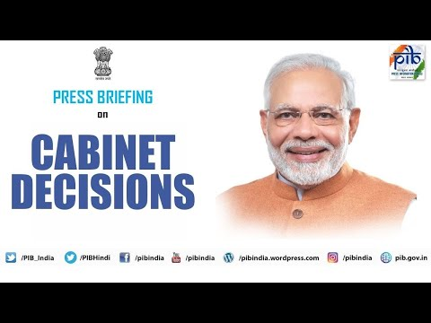 Cabinet briefing by Union Ministers Prakash Javadekar and Narendra Singh Tomar
