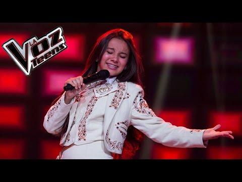 Dayanna Ángel canta 'Me gustas mucho' | Audiciones a ciegas | La Voz Teens Colombia 2016
