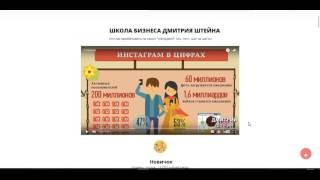 Школа бизнеса Дмитрия Штейна научит вас зарабатывать в интернете реальные деньги