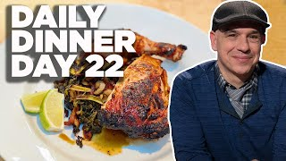 Cook Along With Michael Symon   Grilled Maple Chicken With Smokey Greens   Daily Dinner Day 22