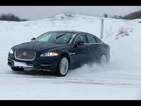 Supercharged V6 Jaguar XF & XJ AWD Car Review
