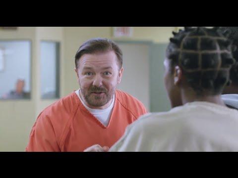Ricky Gervais Netflix Advert