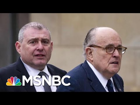 Criminal Case Overlaps Uncomfortably With Trump Impeachment Probe | Rachel Maddow | MSNBC