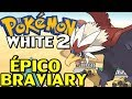 Pokémon WHITE 2 Detonado Parte 7 Braviary Deserto e Join Avenue