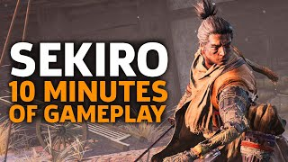 10 Minutes Of Sekiro: Shadows Die Twice Gameplay | Gamescom 2018 - dooclip.me