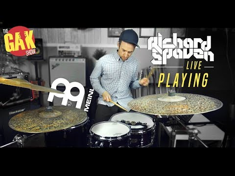 Drummer Richard Spaven | Meinl Cymbals (Just Playing)