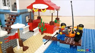 Lego City - Beach side adventure Ep 2: Fishing