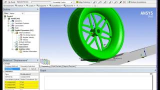 EXPLICIT DYNAMIC ANALYSIS OF A FORMULA ONE WHEEL