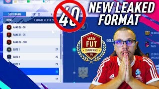 FIFA 19 FUT CHAMPIONS - NEW LEAKED FORMAT! NEW LIMIT OF GAMES & NEW RANK SYSTEM!