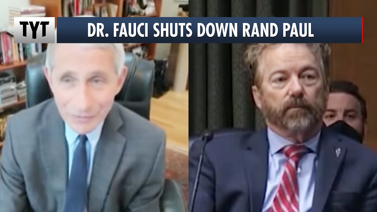 Rand Paul EMBARRASSES Himself In Front Of Dr. Fauci thumbnail