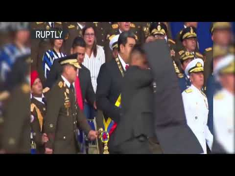Drones explodem durante discurso de Maduro, que sai ileso, diz Caracas