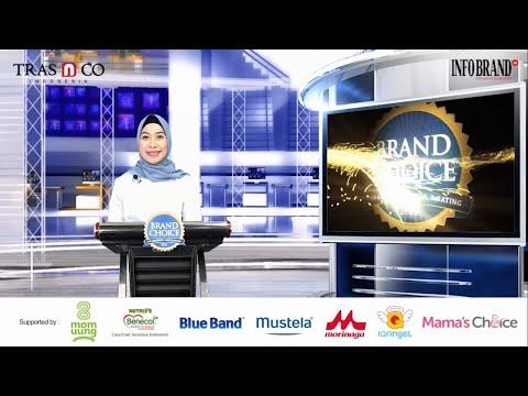 Sambutan Direktur INFOBRAND Group di Virtual Award Ceremony Brand Choice Award 2021
