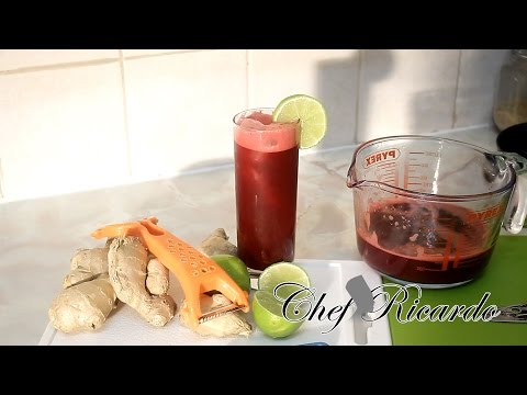 Video Beetroot Juice With Lemon &Honey & Ginger Healthy Recipes