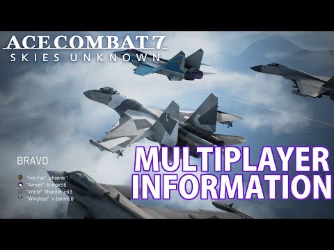Ace Combat 7 Multiplayer Mode Information: Team Deathmatch, Free For All, Lack of Co-Op
